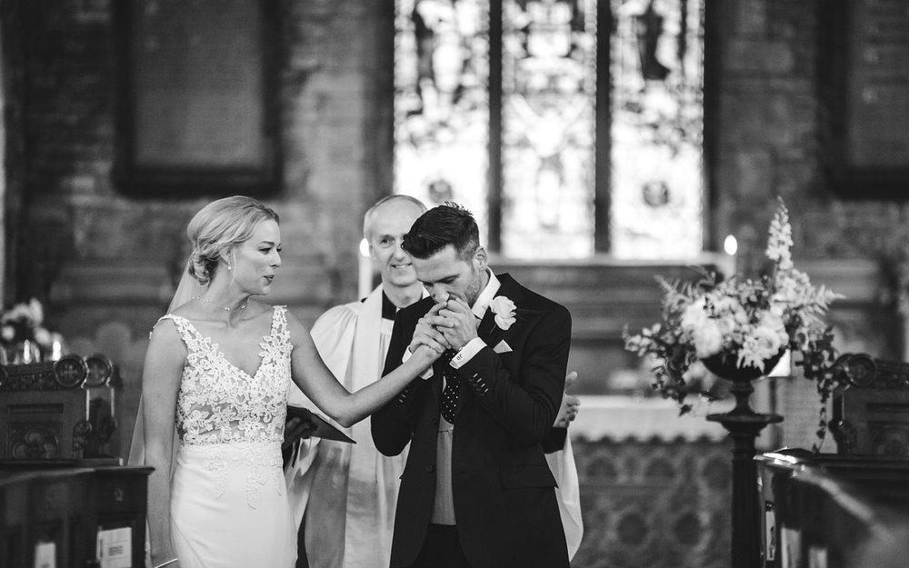 Derbyshire emotional wedding photographer