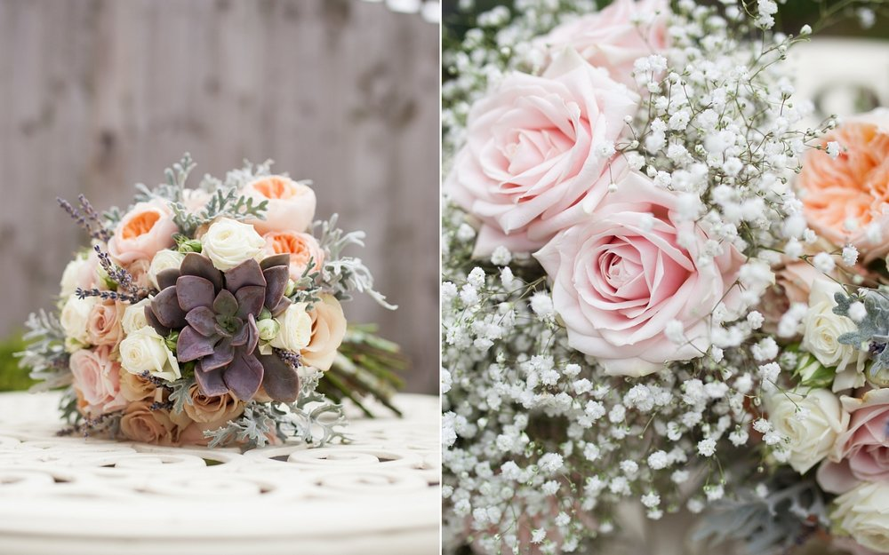 Bridal bouquet cheshire wedding photographer