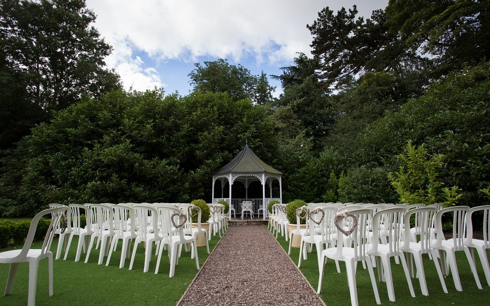 Outdoor Wedding Venue Pendrell Hall