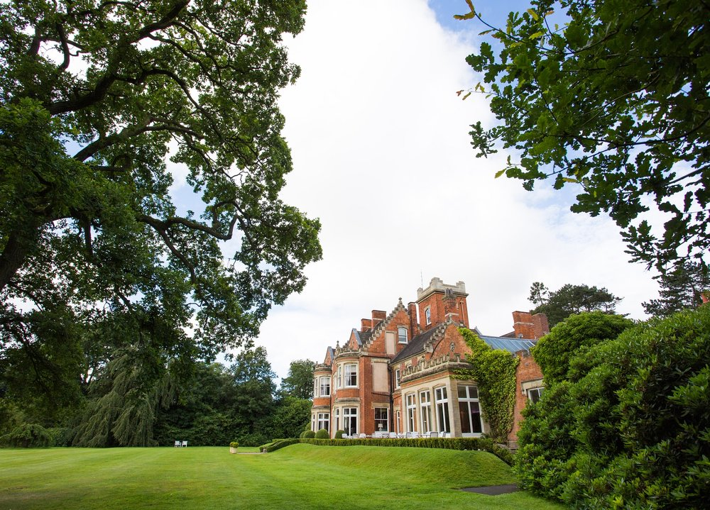 Pendrell Hall - Exclusive Use, No Corkage, Country House Wedding Venue
