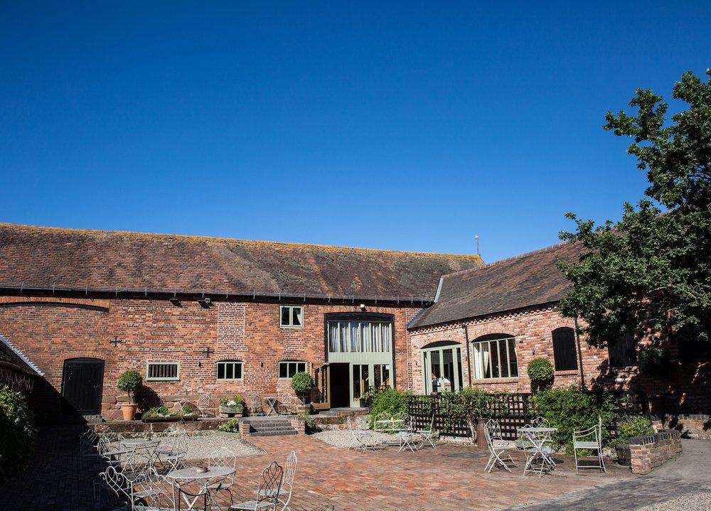 The Curradine Barns, a leading Worcestershire Barn Wedding Venue