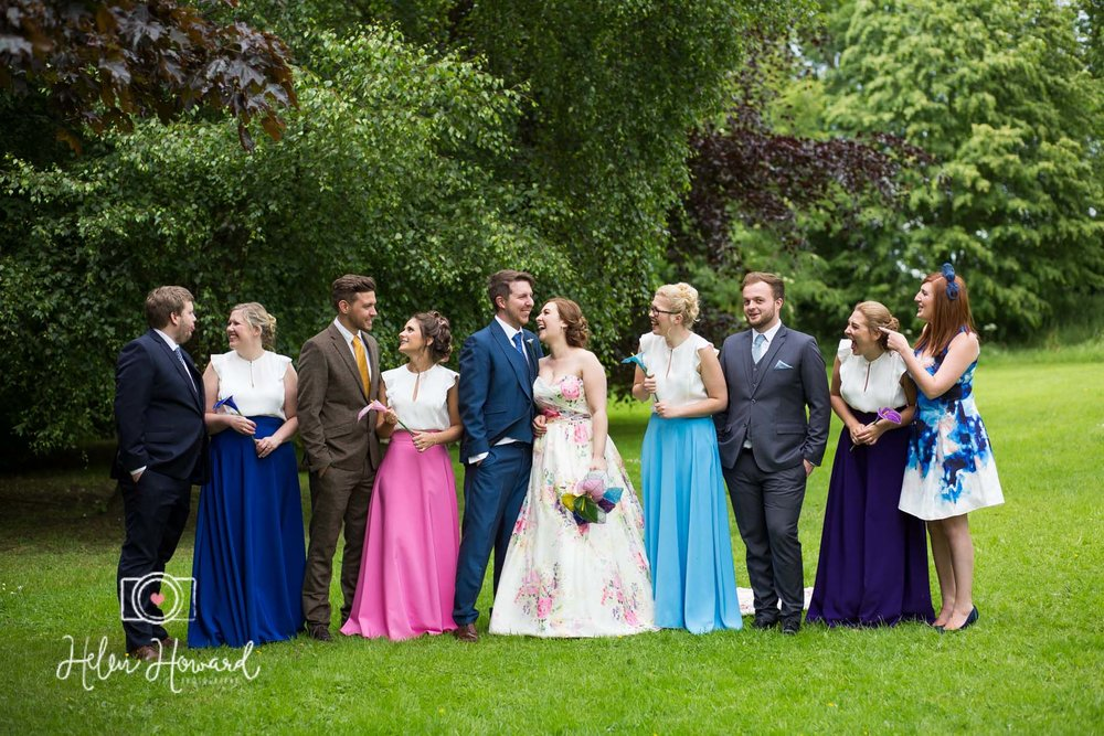 Bridal Party and their partners
