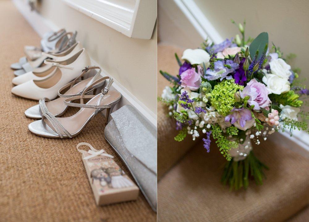 Carrie Lucas Flowers at Packington Moor Wedding