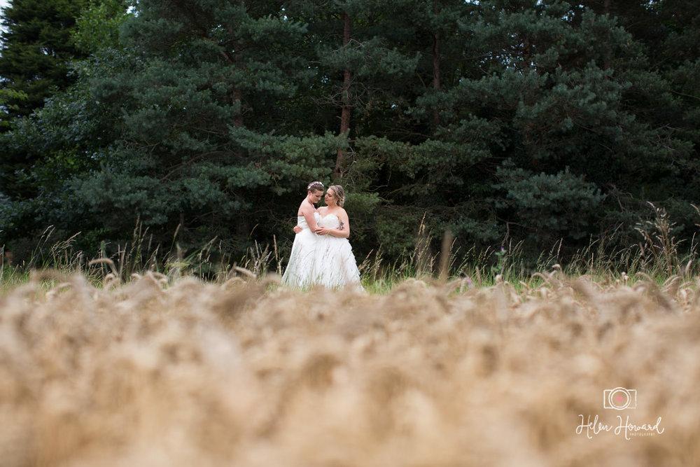 Barn Wedding Photography at Packington Moor Near Lichfield
