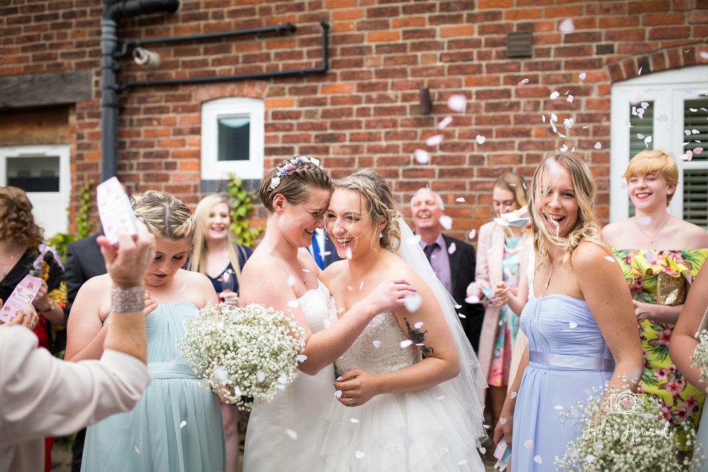 Staffordshire Barn Wedding Photographer at Packington Moor