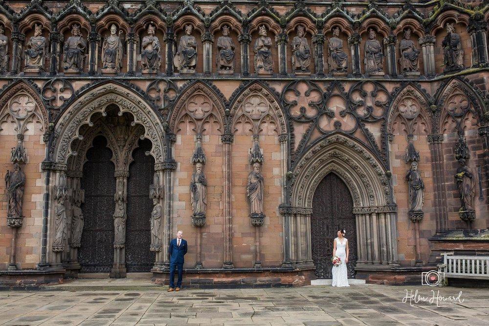 Lichfield Cathedral Wedding Photographer