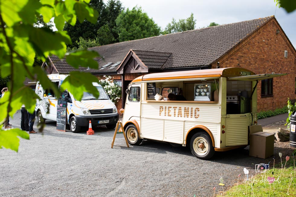 Wedding Food Festival Van