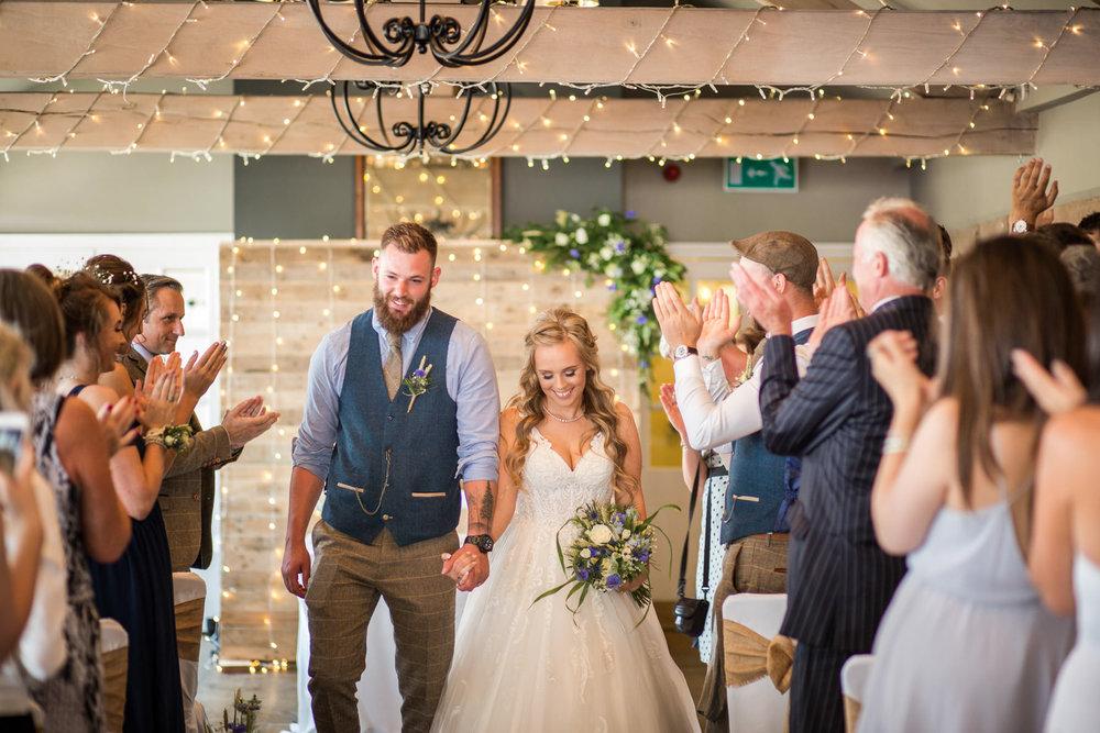 The Alma Inn at Laneshawbridge Wedding Photographer
