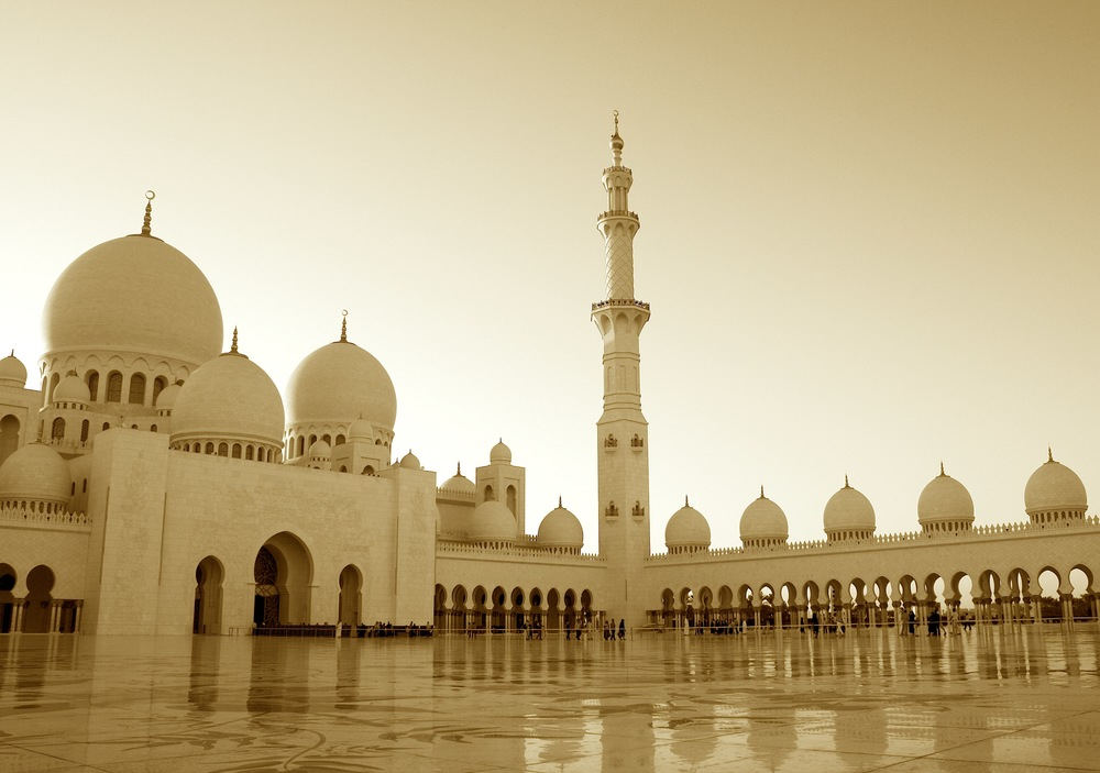 abu dhabi, united arab emirates   sheikh zayed mosque