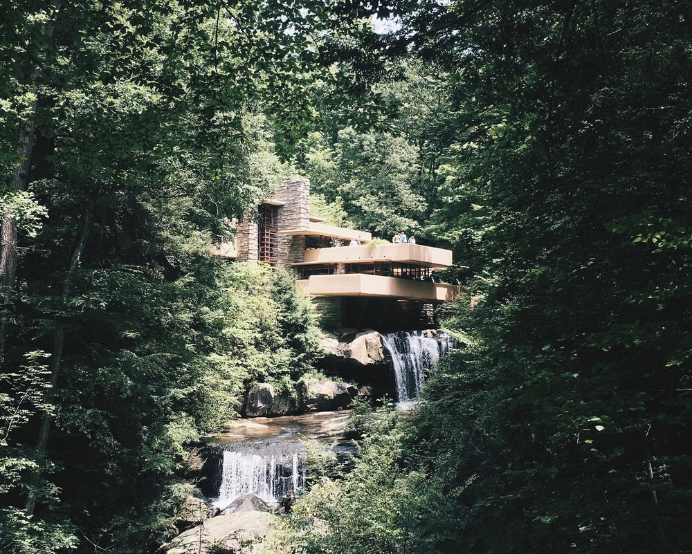 pennsylvania   fallingwater by frank lloyd wright