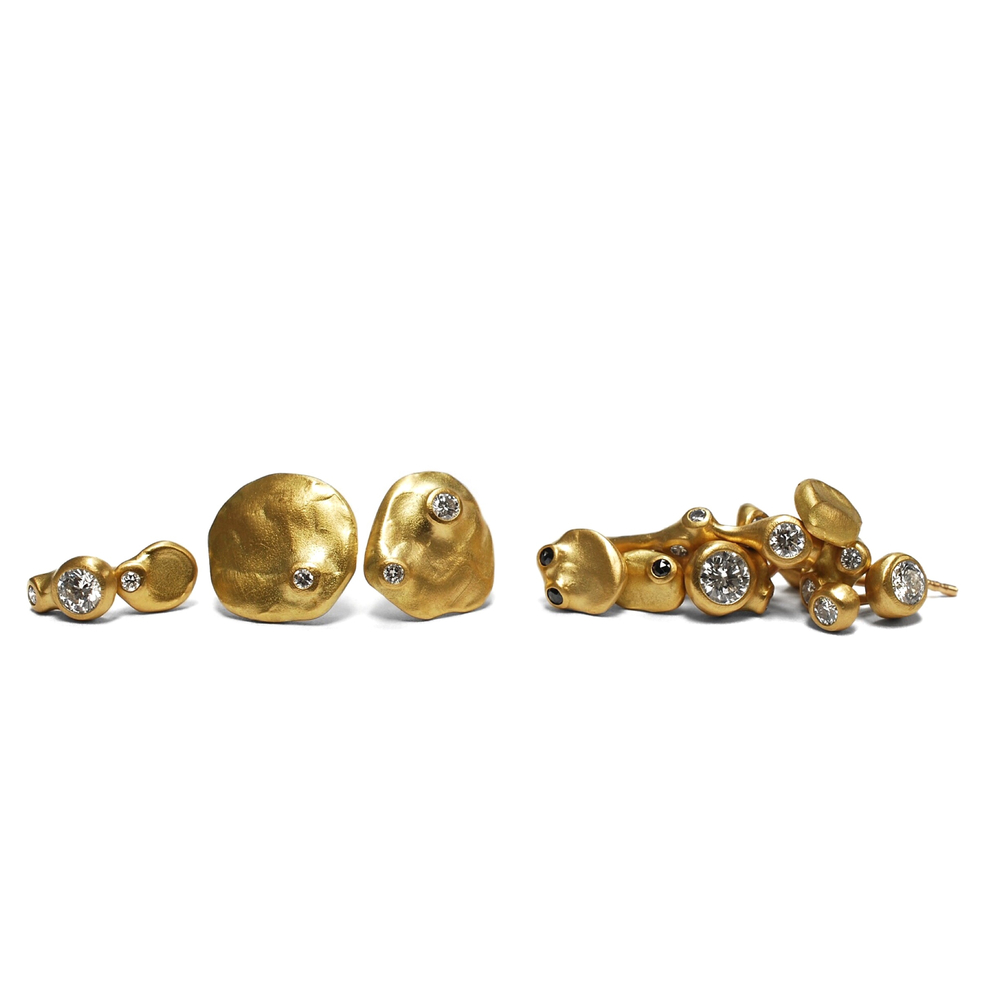Barnacle Stud Earrings by Johnny Ninos