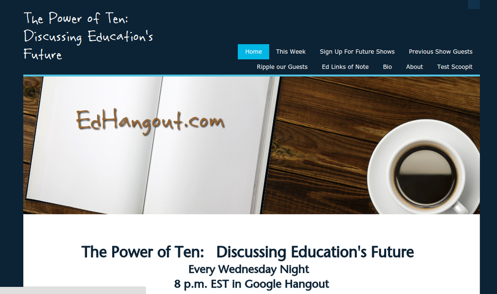 Ed Hangout Website Screenshot.png