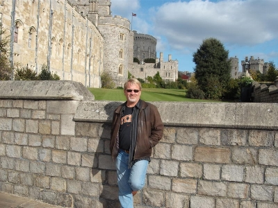 Cameron Wallace at Windsor Castle