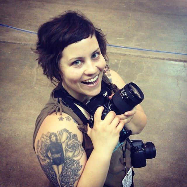 I miss this hair. Photo By Jessie Stellmach