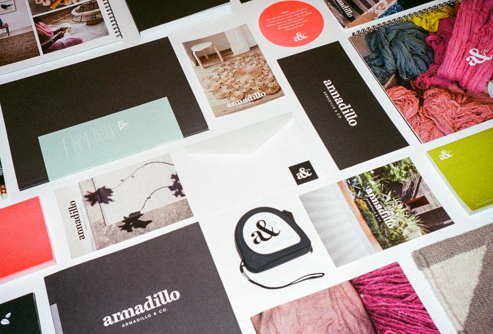 • Armadillo&Co. Identity & Direction