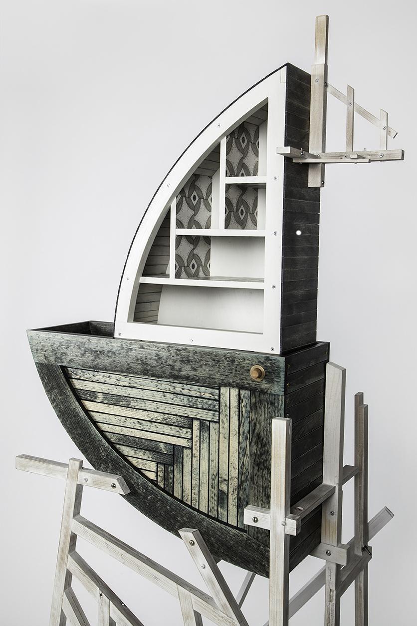 Shark Fin Cabinet, 2014