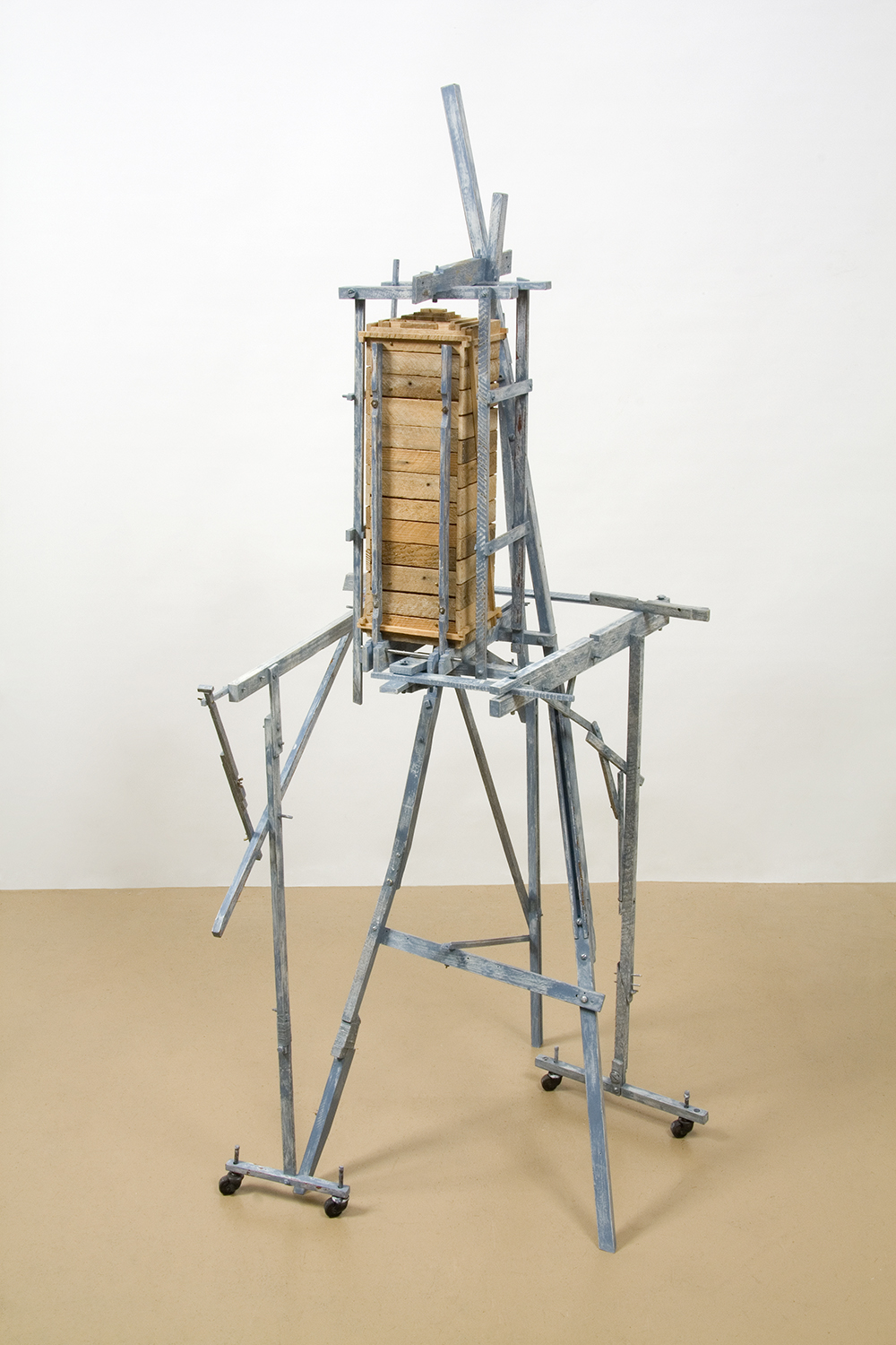 Symbiosis #1, Table With Drawer, 2009 (closed & retracted)