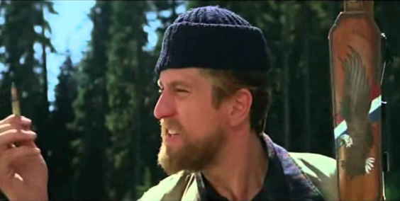 Robert De Niro in  The Deer Hunter : 'This is this. This ain't nothing else. This is this.' Oh, for such clarity. And a 303.