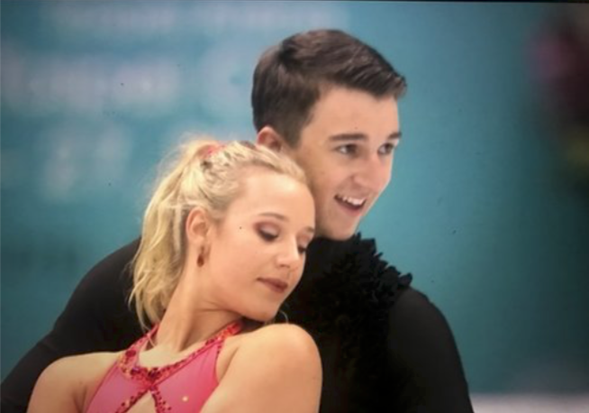 Matilda Friend and William Badaoui - Current Australian Junior Ice Dance ChampionsWorld Junior Team members