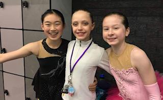Vlada, Amelie, Angela - Vlada- 2018 Australian Advanced Novice championAmelie: 2018 Int'l Advanced Novice gold MedallistAngela- Advance Novice medallist