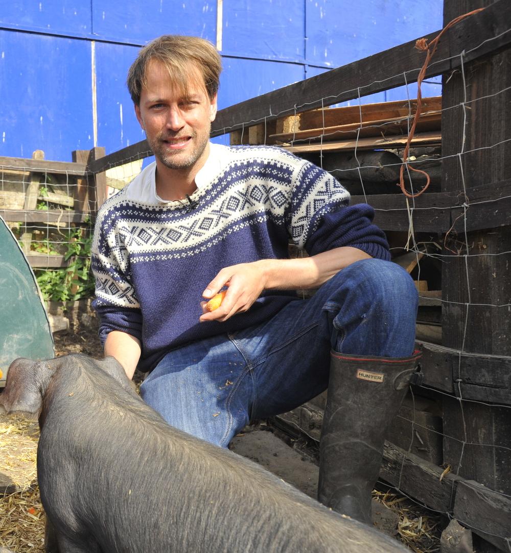 Tristram Stuart Author, Campaigner, Food Waste Expert at Tristram Stuart, Feeding the 5000