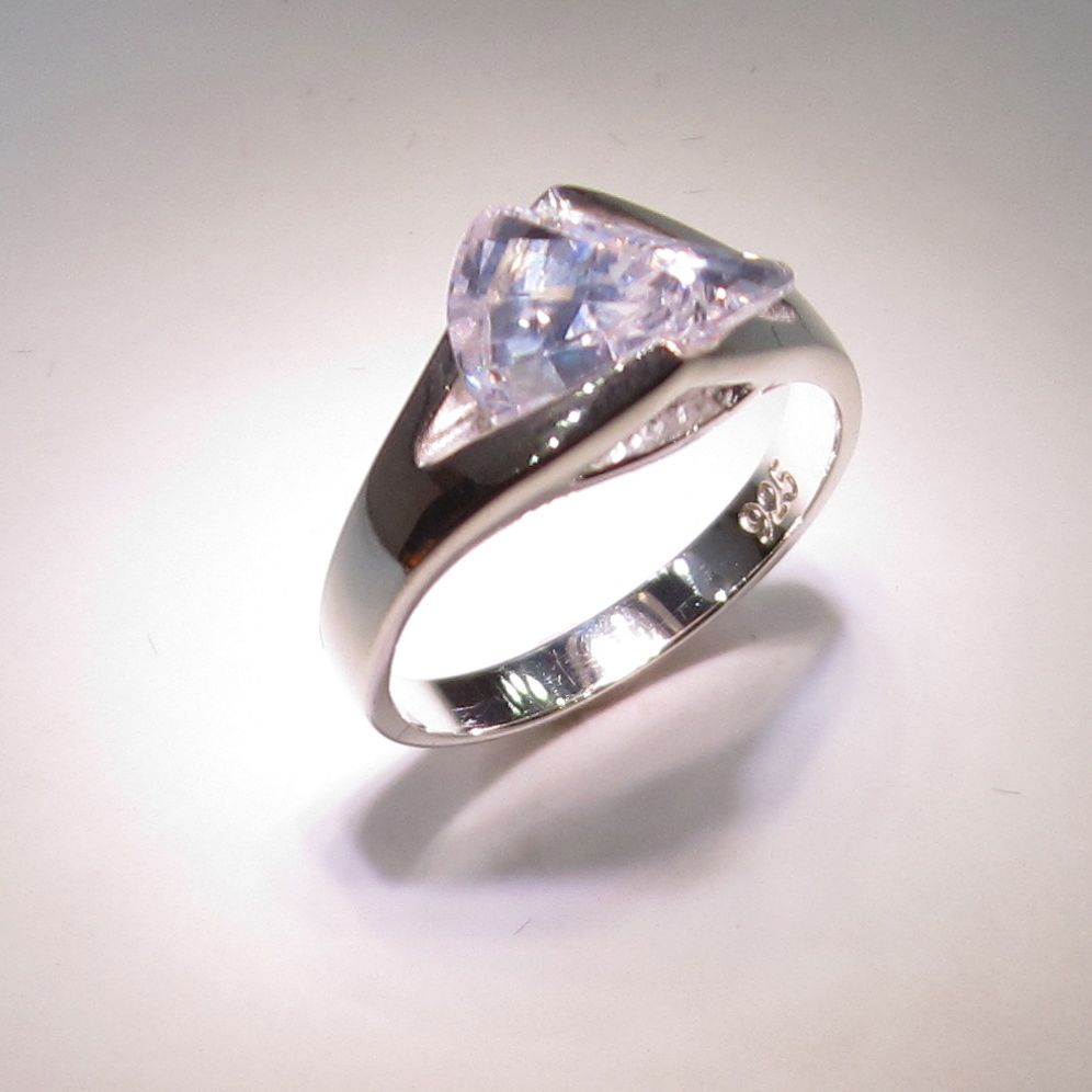 Laguna Wave Ring | Small Gem Silver — Gem Mountain Studios