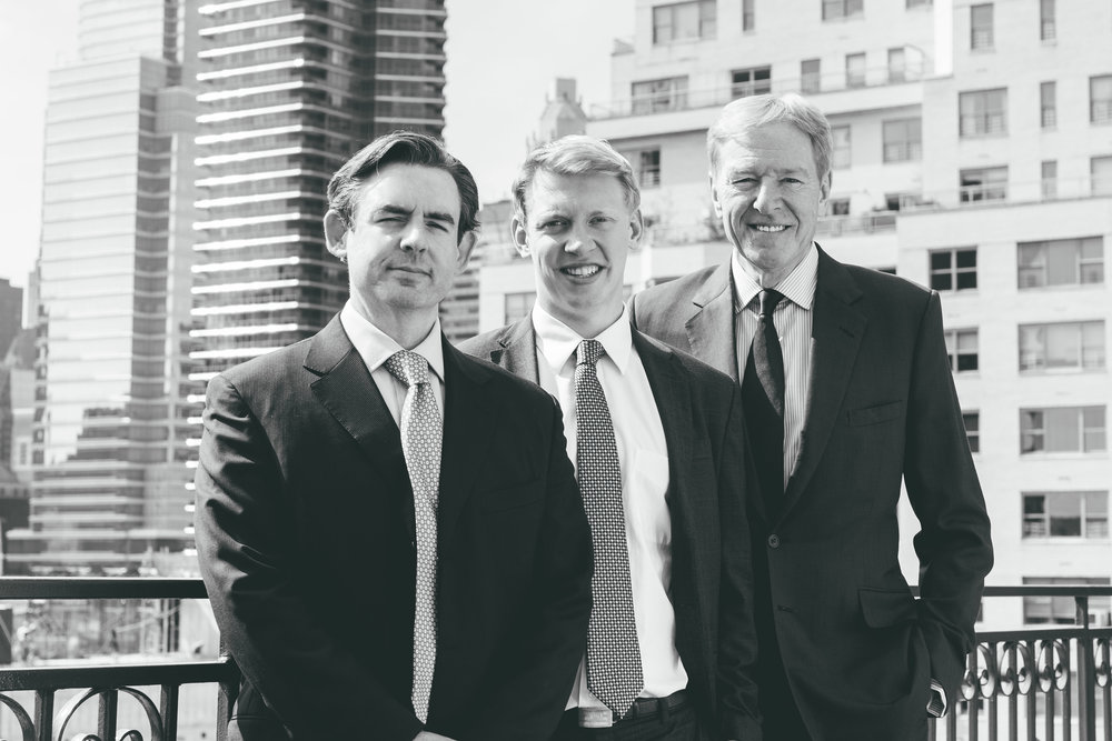 Hickory's Partners advise clients from their wealth of experience. -