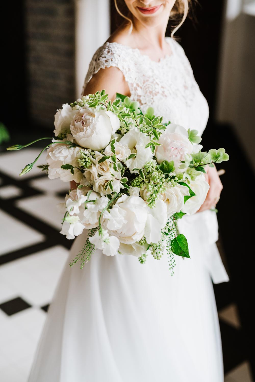 Classic White Bridal Bouquet