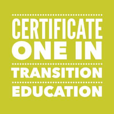 CERT ONE in Transition Education