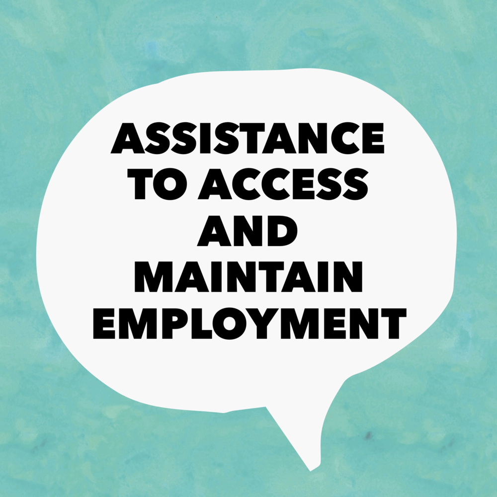 Assistance to Access and Maintain Employment