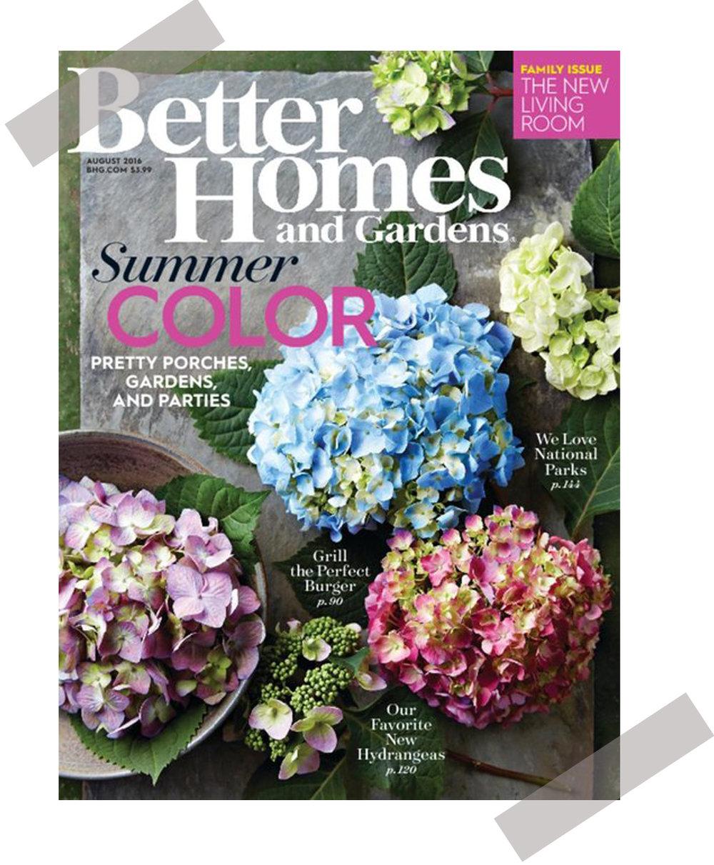 Better Homes & Garden, 2016