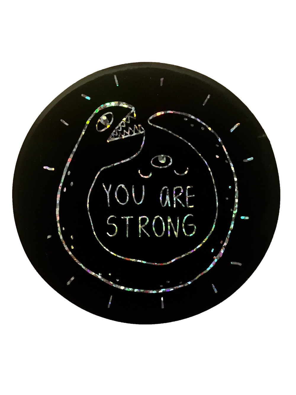 'You are Strong' © 2018 Candice Ploy Goodman all rights reserved