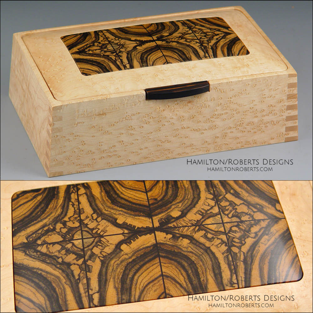 Bird's Eye Maple Box