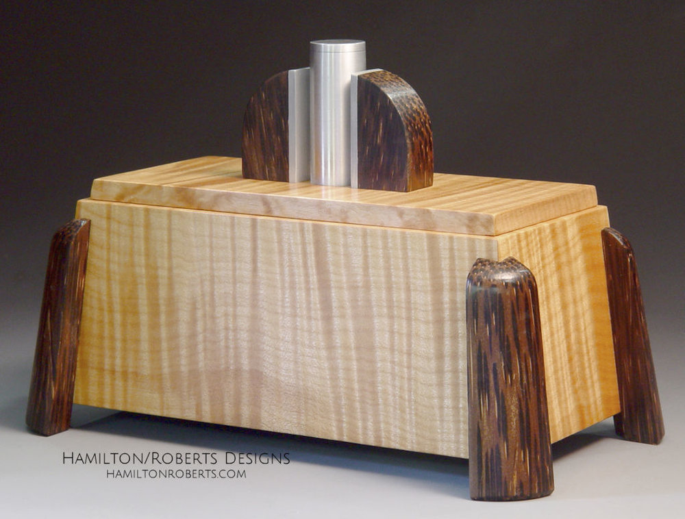 Tiger Maple Deco Box