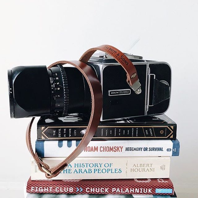 Beautiful photo and drool worthy camera from @_grabacup_ Paired with our Avalon camera strap in honey color leather with Hasselblad clip attachment.