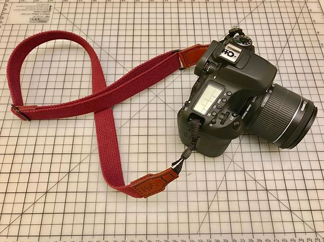 Working hard to get these cotton webbing straps up on the website. They are super comfy, adjustable length, and compatible with almost ALL cameras. Stay tuned...