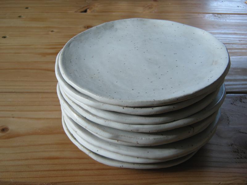 7-Inch Slab Round Plates