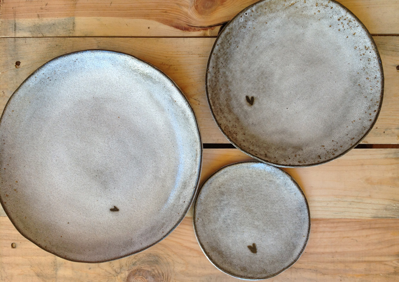 Slab Round Plates