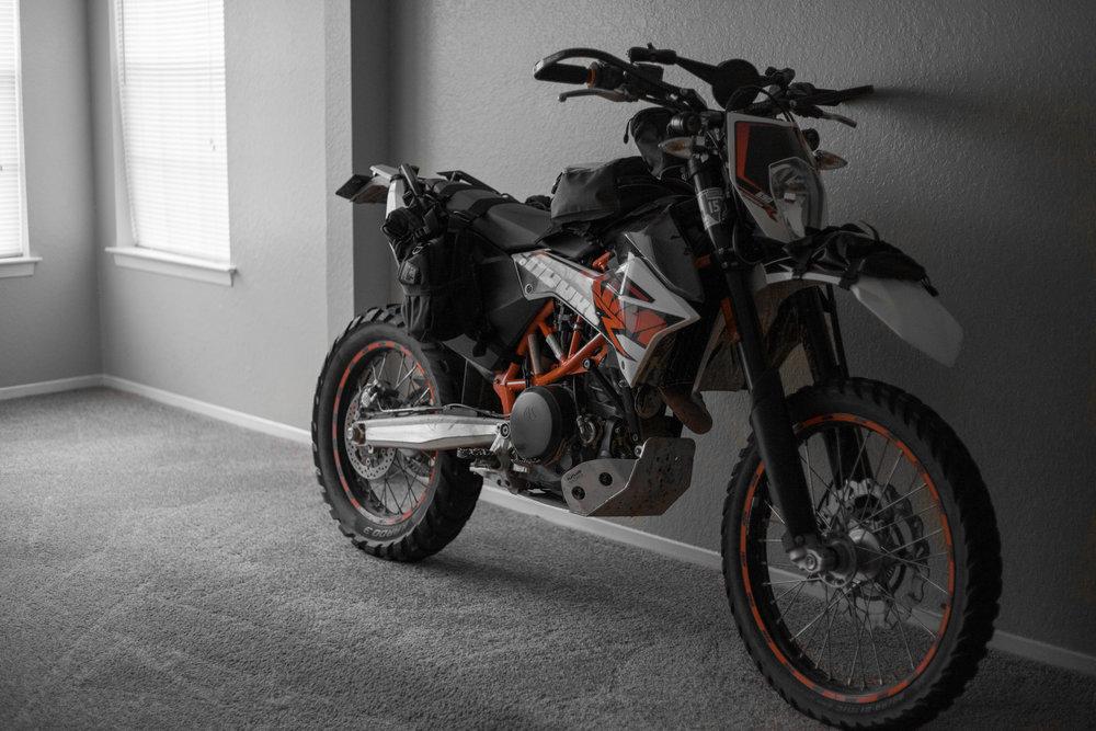 My 2014 KTM 690 Enduro R