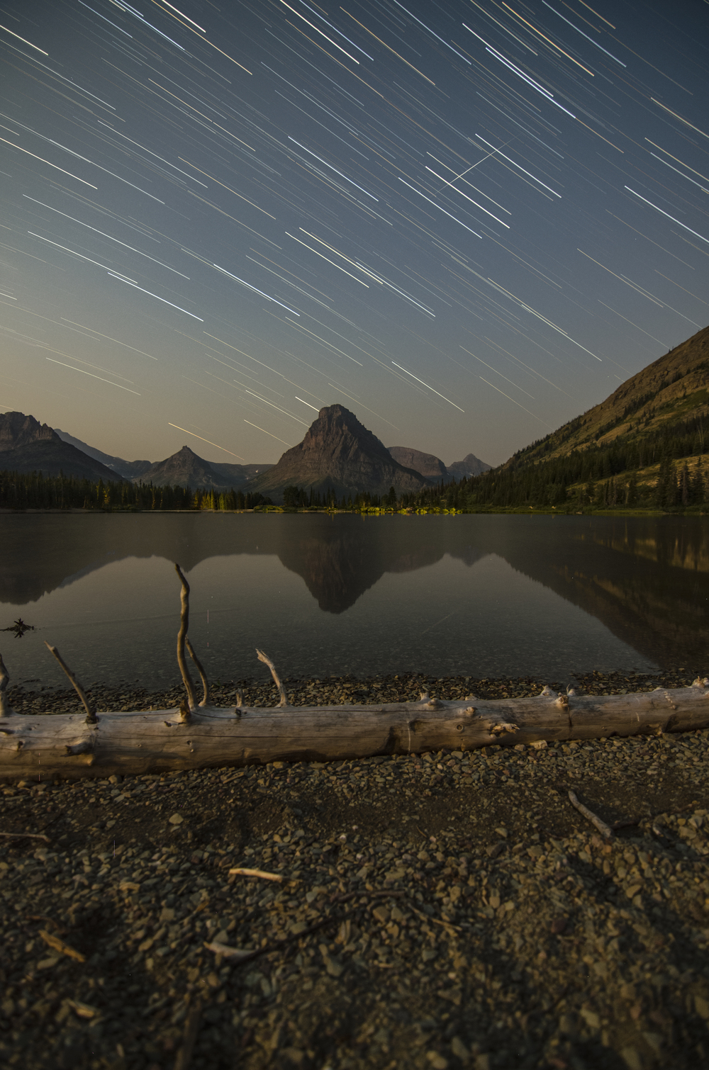 Two Medicine Star Trails