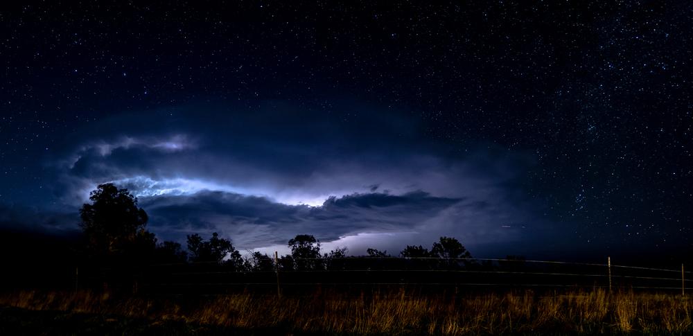 Ekalaka Lightning storm