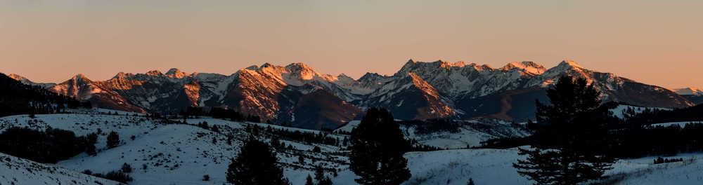Paradise Peaks Panorama