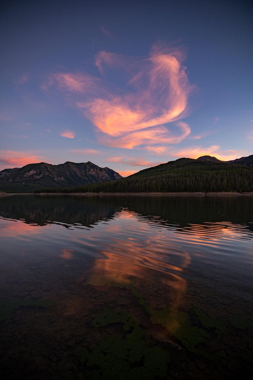 Hyalite Sunset