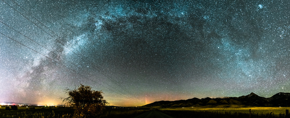 Milkyway arch panorama