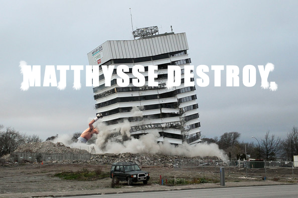 Lucas Matthysse Skyscraper KO.
