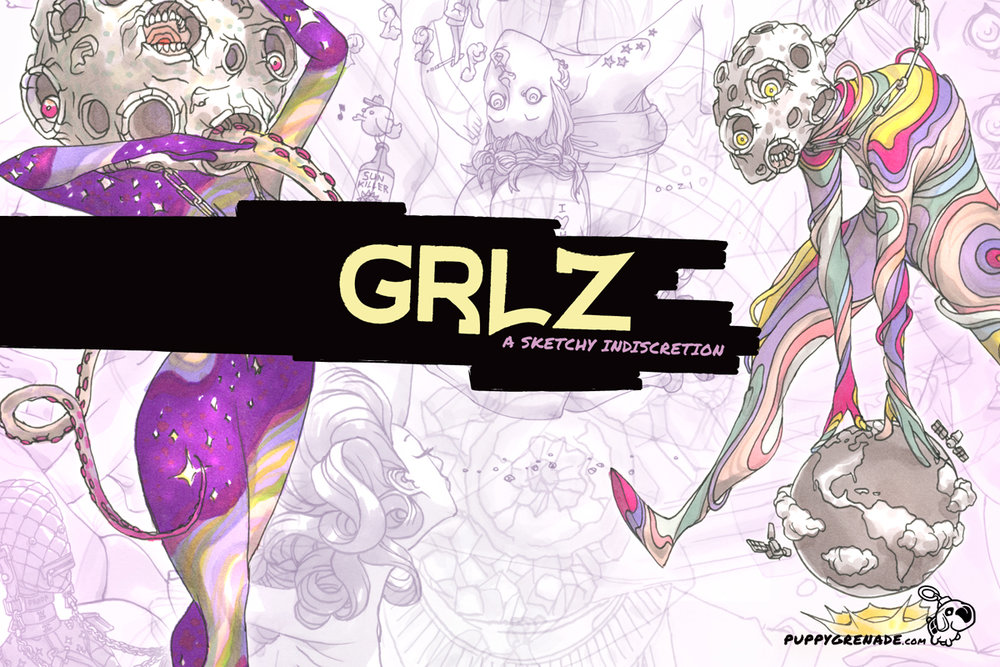 Grlz: A Sketchy Indiscretion By Oh! Oozi (Art Book)