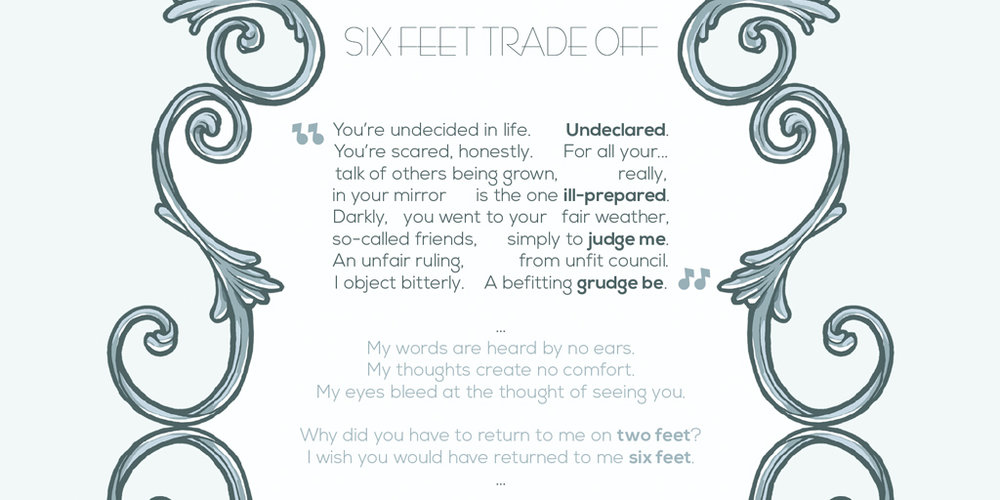 Six Feet Trade Off (Song excerp) by Oh! Oozi