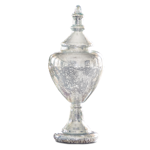 Perfect large mercury glass apothecary jar — bohème \ curated french  BM66