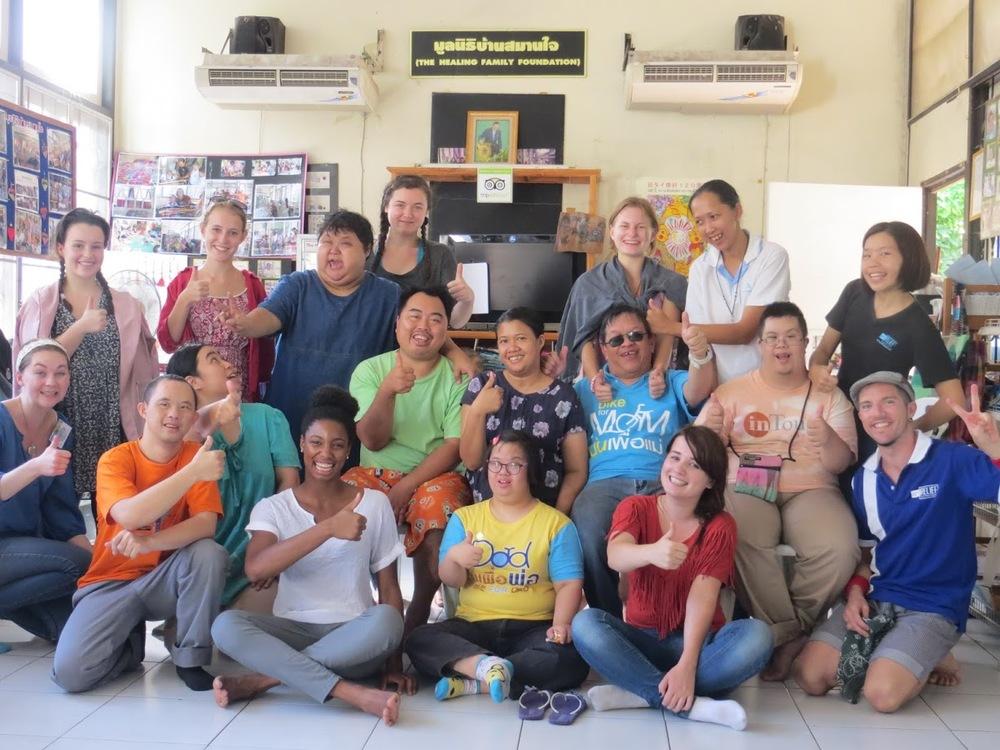 Marichelle's Art Therapy Internship with Art Relief International Thailand