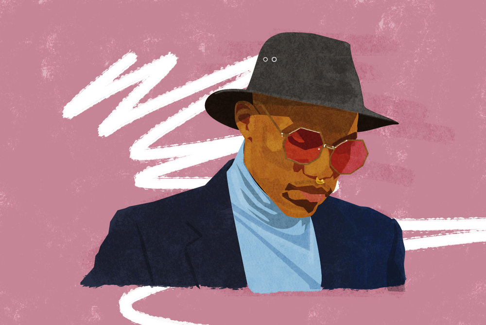 9 Things You Didn't Know About Anderson .Paak, 2016 Digital illustration